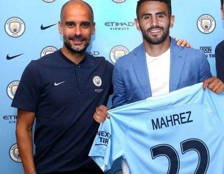 City get their man Mahrez