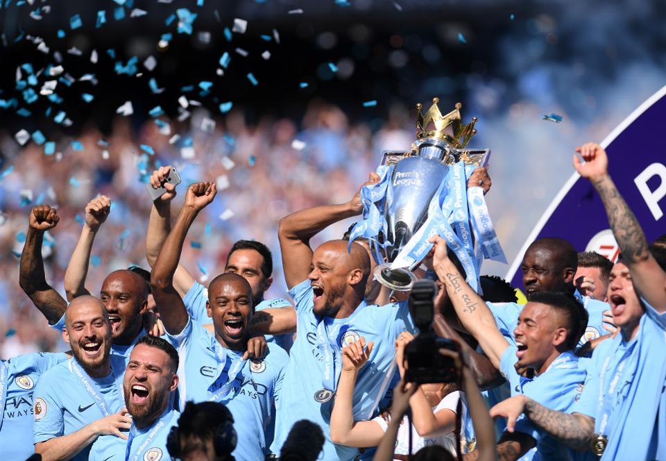 Man City Champions 2017/18